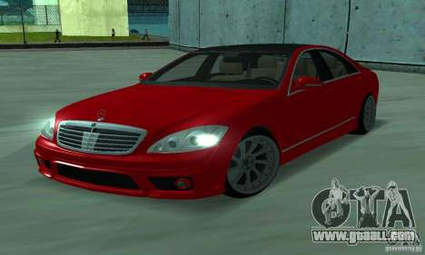 Mercedes-Benz S65 AMG Estate Edition for GTA San Andreas left view