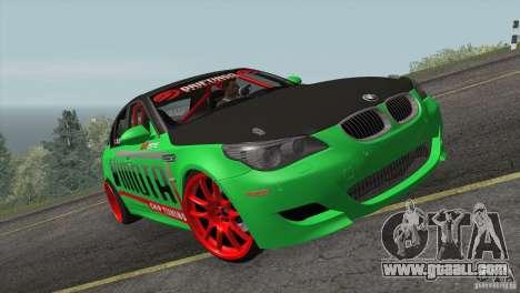 BMW M5 E60 Darius Balys for GTA San Andreas