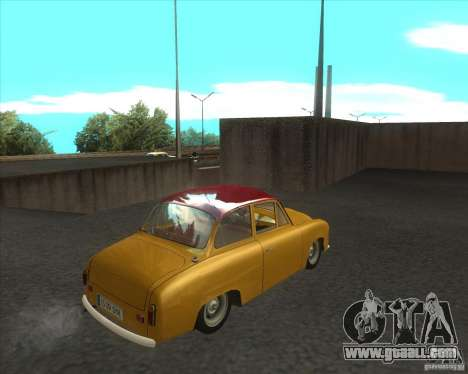 Syrena 104 for GTA San Andreas back left view
