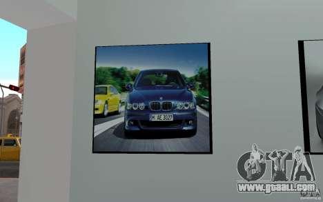 BMW dealership for GTA San Andreas forth screenshot