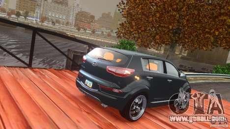 Kia Sportage 2010 v1.0 for GTA 4 side view