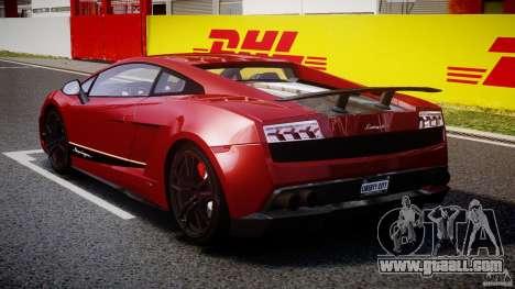 Lamborghini Gallardo LP570-4 Superleggera 2011 for GTA 4 side view