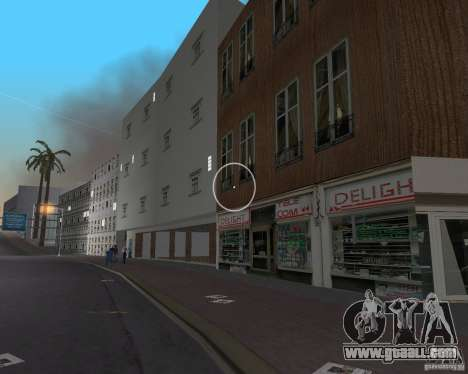 New Downtown: Shops and Buildings for GTA Vice City ninth screenshot