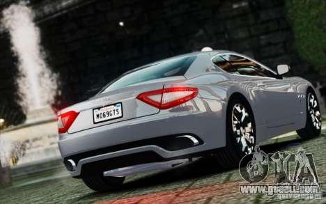 Maserati Gran Turismo S 2009 for GTA 4 left view