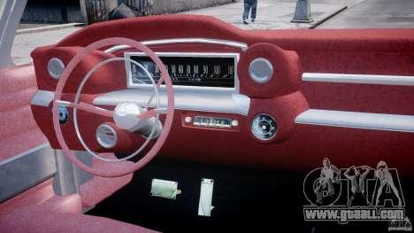 Cadillac Eldorado 1959 (Lowered) for GTA 4 right view