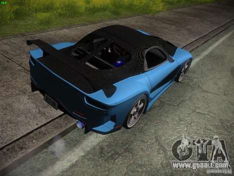 Mazda RX 7 Veil Side for GTA San Andreas right view