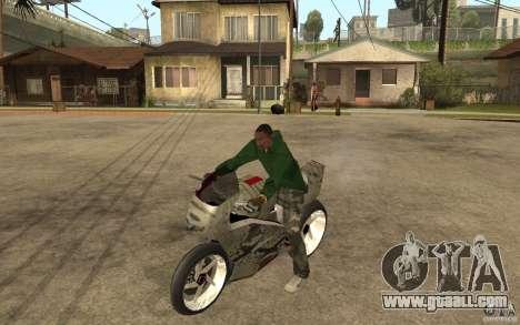 Streetfighter NRG 500 Snakehead v2 for GTA San Andreas