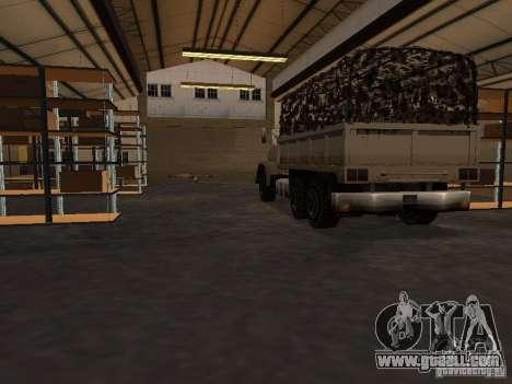 The revived military base in docks v3.0 for GTA San Andreas third screenshot