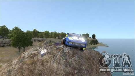 Subaru Impreza WRX STI Rallycross BFGoodric for GTA 4 back view
