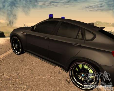 BMW X6 M E71 for GTA San Andreas right view