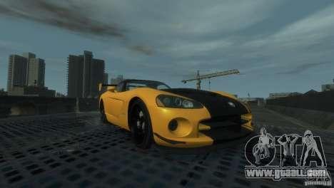 Dodge Viper SRT-10 ACR 2009 for GTA 4