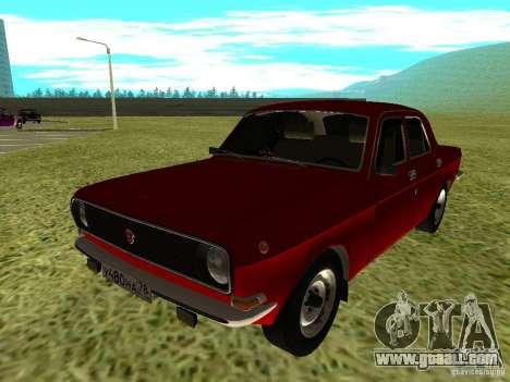 GAZ 24-10 Volga for GTA San Andreas left view