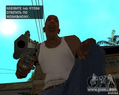 Magnum 22.2 for GTA San Andreas third screenshot