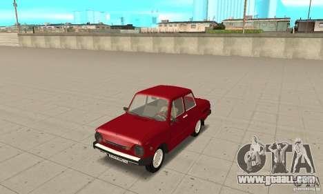 ZAZ 968 m for GTA San Andreas