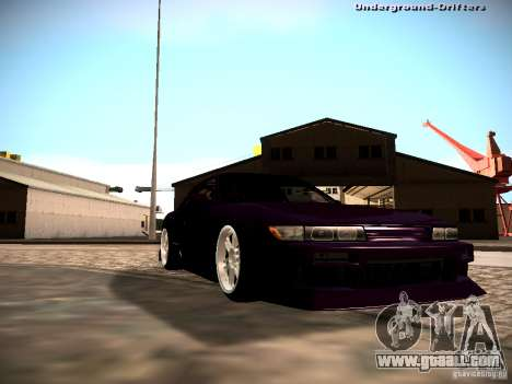 Nissan Silvia S13 Tandem Of DIE for GTA San Andreas right view
