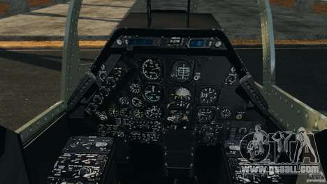 Bell AH-1 Cobra for GTA 4 back view