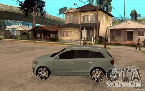 Audi Q7 V12 TDI 2011 for GTA San Andreas left view