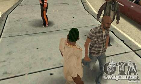 Green kornrou for GTA San Andreas second screenshot