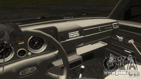 VAZ 2104 for GTA San Andreas inner view