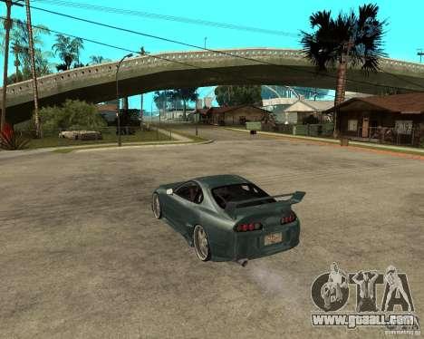 Toyota Supra Veilside for GTA San Andreas left view
