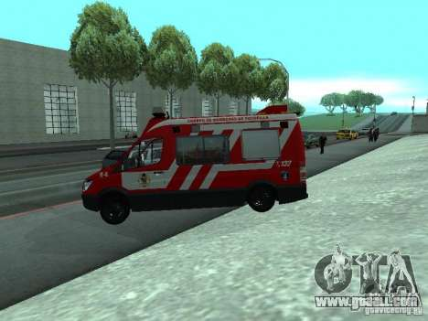 Mercedes-Benz Sprinter R-4 for GTA San Andreas left view