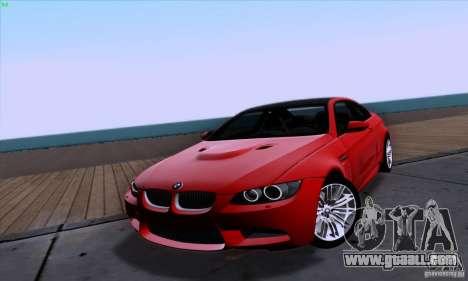 BMW M3 E92 v1.0 for GTA San Andreas