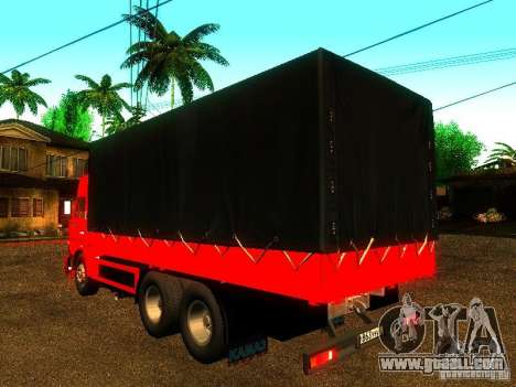 KAMAZ 53215 for GTA San Andreas left view