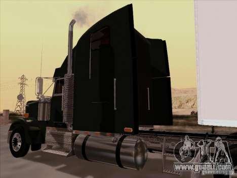 Freightliner FLD 120 Classic XL for GTA San Andreas back view
