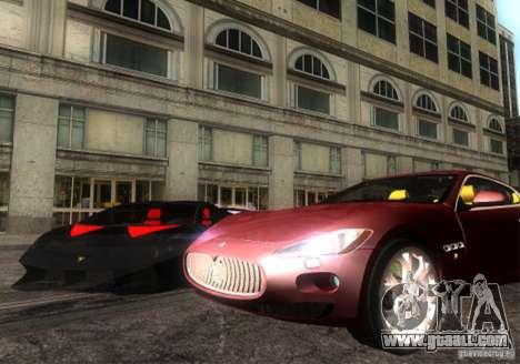 Maserati Gran Turismo for GTA San Andreas right view