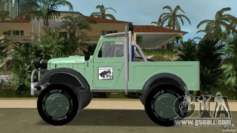 Aro M461 Offroad Tuning for GTA Vice City left view