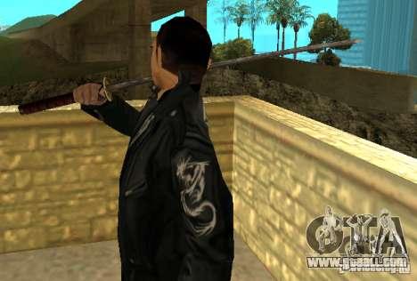 Replacement skins Yakuza for GTA San Andreas third screenshot