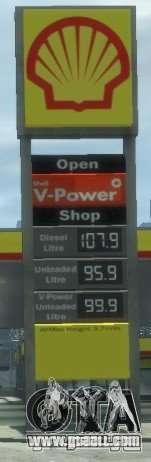 Shell Petrol Station V2 Updated for GTA 4 fifth screenshot