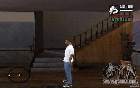 Skinny jeans for GTA San Andreas second screenshot
