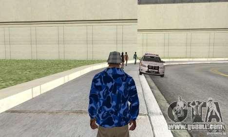 Hoody skin for GTA San Andreas second screenshot