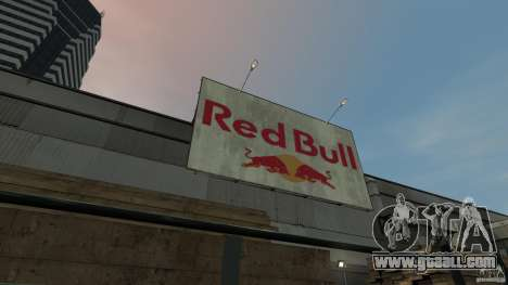 Red Bull Factory for GTA 4 forth screenshot