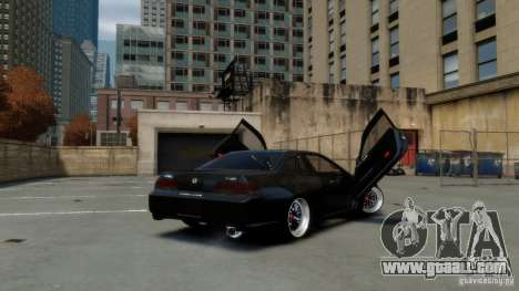 Honda Prelude SiR VERTICAL Lambo Door Kit Carbon for GTA 4 left view