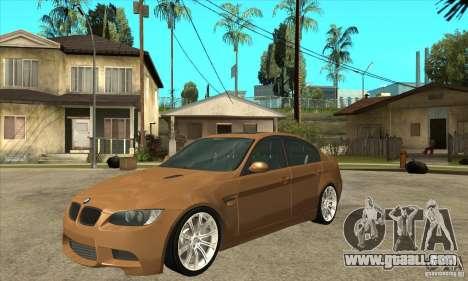BMW E90 M3 for GTA San Andreas
