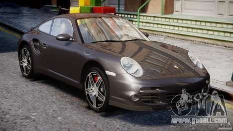 Porsche 911 Turbo for GTA 4 side view