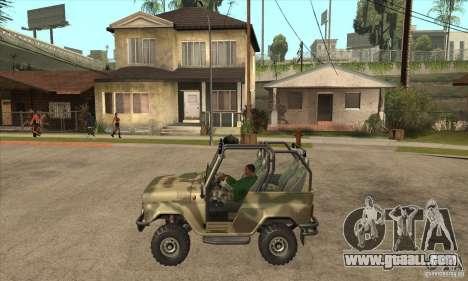 UAZ-3150 varmint for GTA San Andreas left view