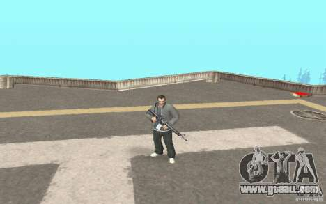 Animation of GTA IV for GTA San Andreas second screenshot