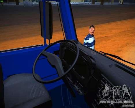 KAMAZ 65117 Grain for GTA San Andreas back view