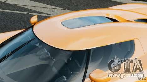 Koenigsegg CCX 2006 v1.0 [EPM][RIV] for GTA 4 interior