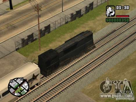 Combine train from the game half-life 2 for GTA San Andreas back view