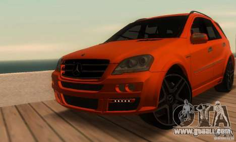 Mercedes-Benz ML63 AMG Brabus for GTA San Andreas side view
