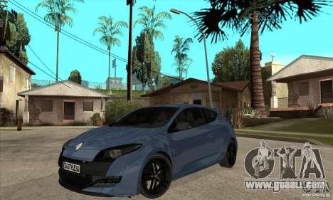 Renault Megane 3 Sport RS 2010 for GTA San Andreas