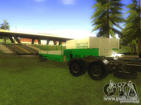 TCM trailer-993910 for GTA San Andreas right view