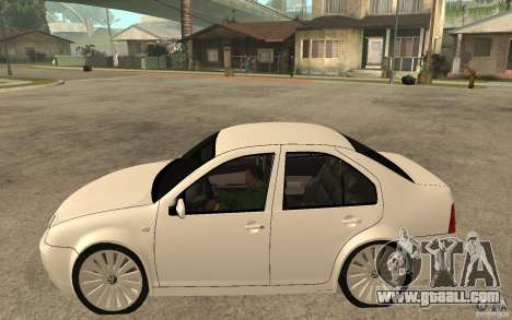 Volkswagen Bora PepeUz Edition for GTA San Andreas left view