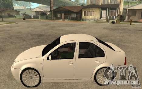 Volkswagen Bora PepeUz Edition for GTA San Andreas left view