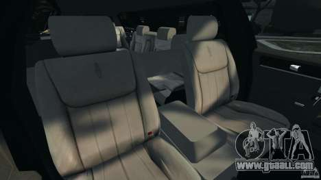 Lincoln Town Car Limousine 2006 for GTA 4 back view