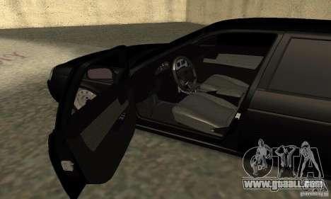 Lada 2170 Priora Pnevmo for GTA San Andreas back view